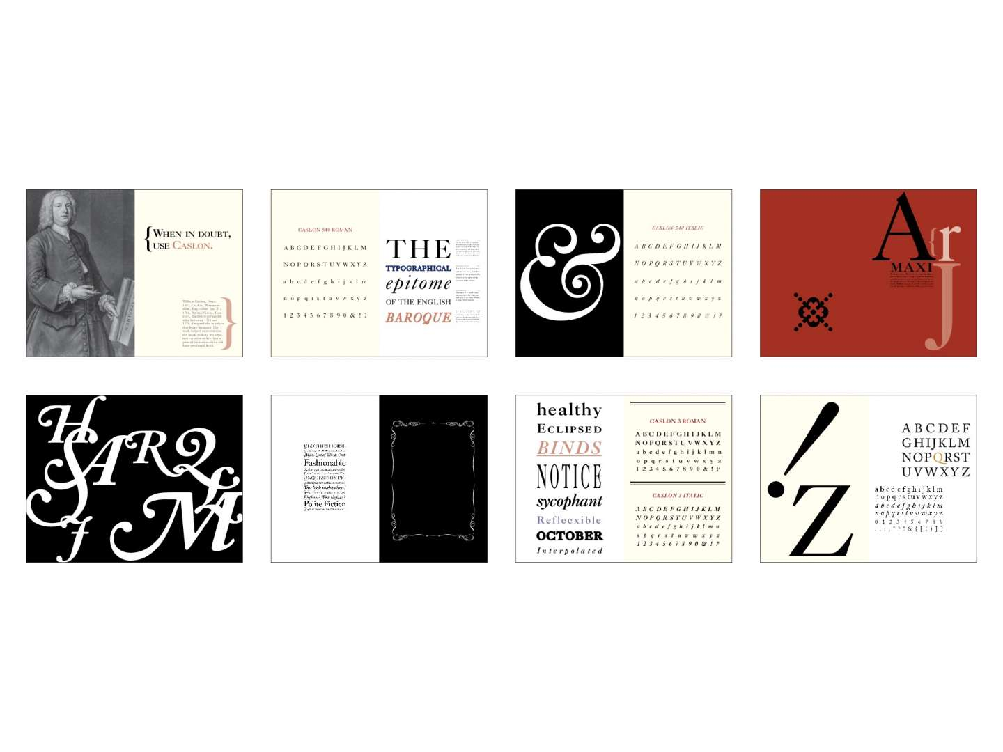 Type Specimen Book Design