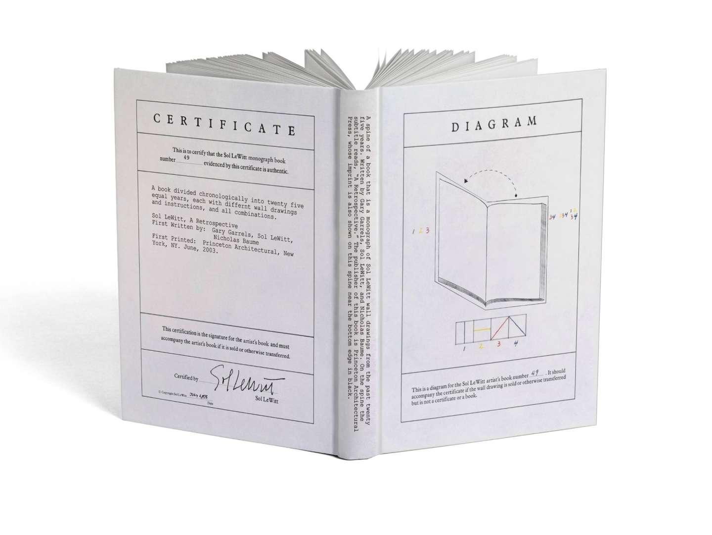Sol Lewitt Monograph By Rachel Ake Sva Design
