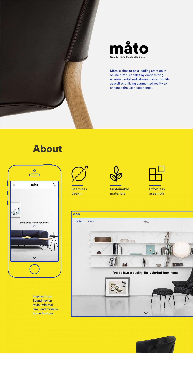 Måto — Furniture Brand & AR App by Dan Phan – SVA Design