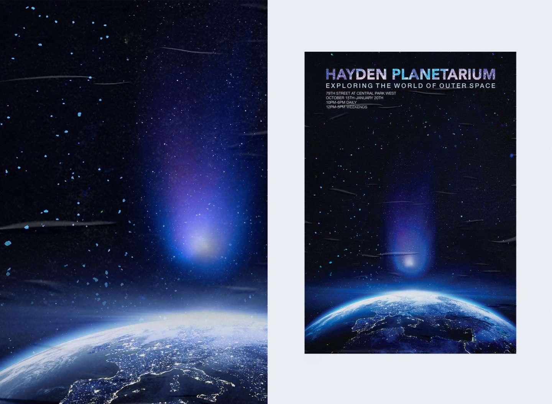 Hayden Planetarium Poster by Gisell Bastidas Jaramillo – SVA