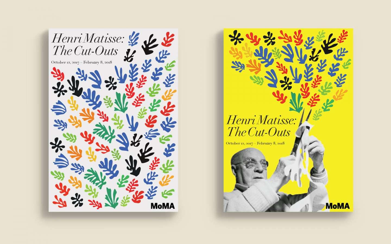 Modern Art Exhibition Poster Design