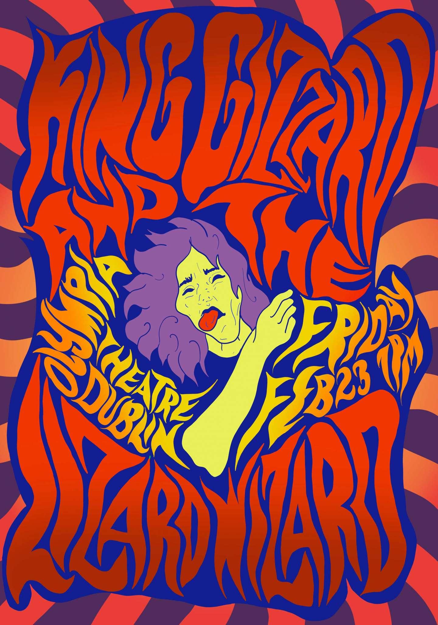 Contemporary Psychedelic Posters By Noora Manchanda  U2013 Sva