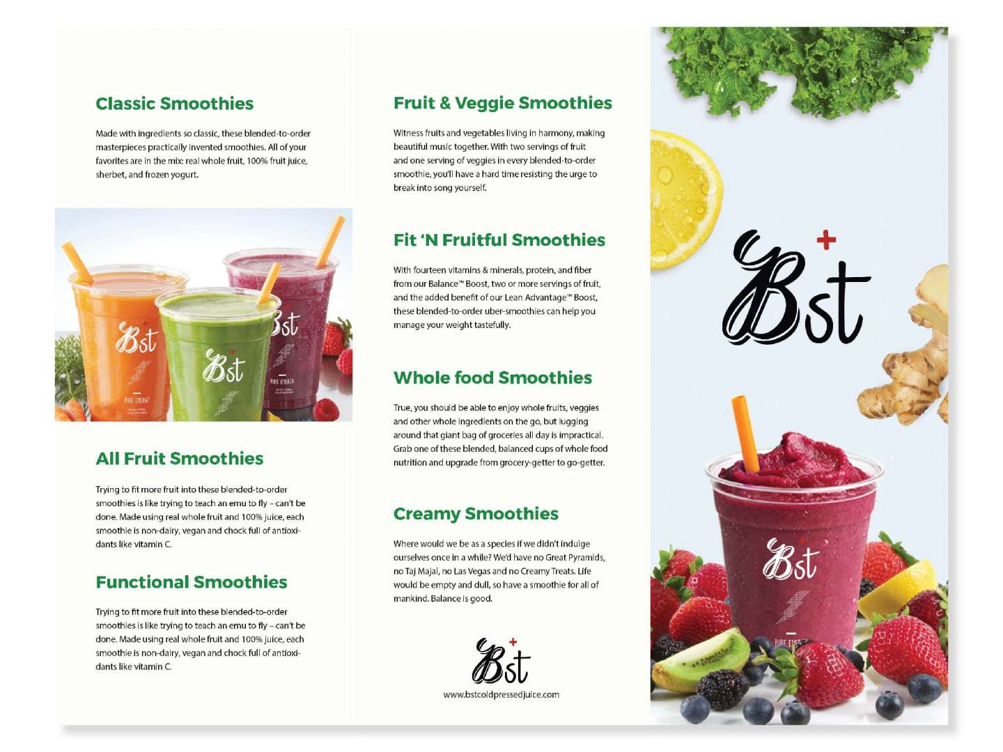 Bst Cold Pressed Juice Branding by Joowon Ahn – SVA Design