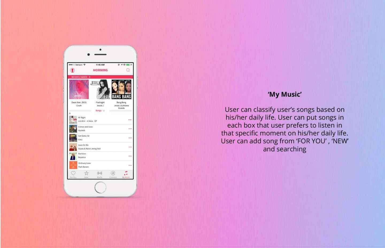 Apple Music App Redesign by Ji Hyun Chun – SVA Design