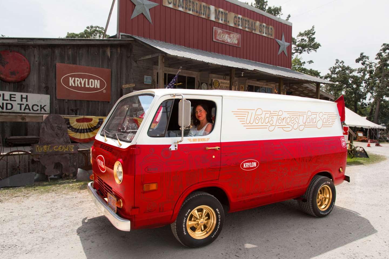Krylon Spray Paint 127 Yard Sale Van by Joseph Haddad – SVA
